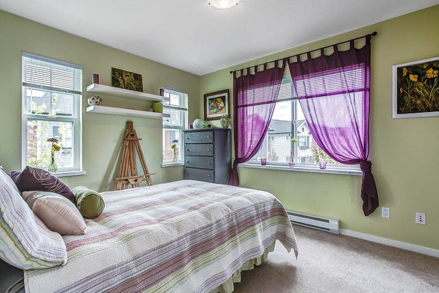 Second bedroom is a great size for kids or can be a bright hobby room