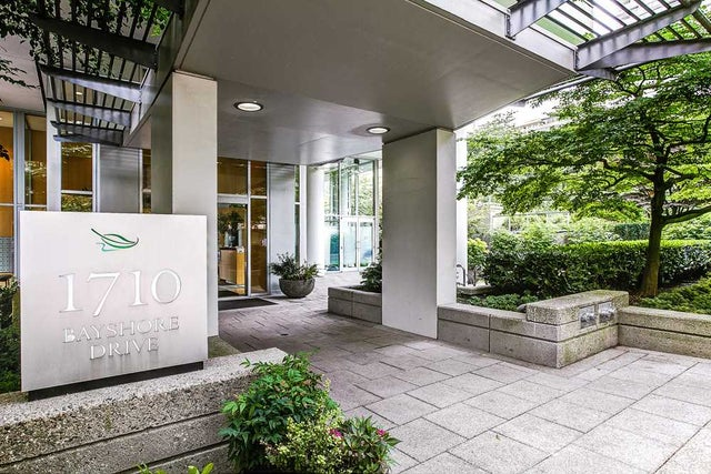 804 1710 BAYSHORE DRIVE - Coal Harbour Apartment/Condo for sale, 2 Bedrooms (R2195570) #1